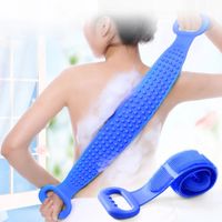 Exfoliating Silicone Wet & Dry Body Scrubber Brush