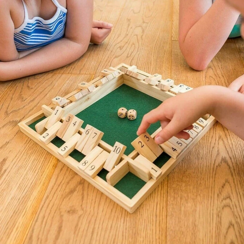 FlipBlock Wooden Board Game