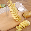 Reusable Twisted Potato Spiral Cutter