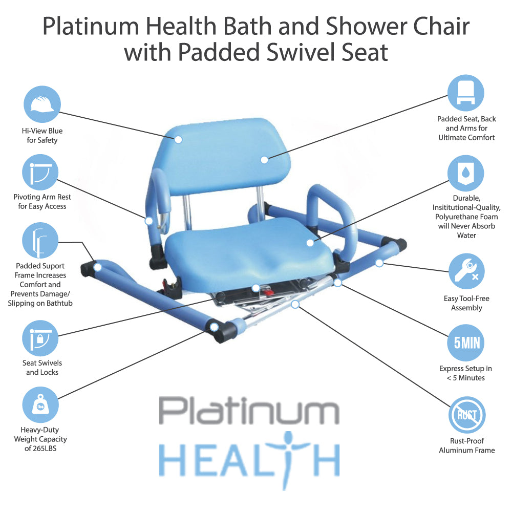Bathtub Swivel Chair | Platinum Health Group