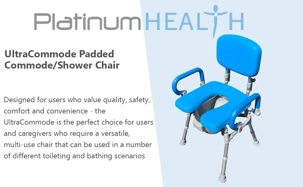 Ultracommode Folding Commode/Shower Chair