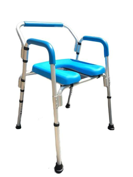 Versatile(tm) 3-in-1 PADDED Commode/Shower Chair.  sc 1 st  Platinum Health Group & Commode Chair/Shower Chair Versatile(tm) 3-in-1 PADDED Commode ...