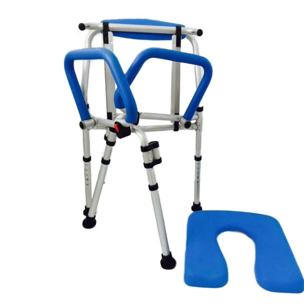 PADDED COMMODE/SHOWER CHAIR - removable seat
