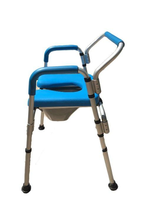 Versatile(tm) 3-in-1 PADDED Commode/Shower Chair.