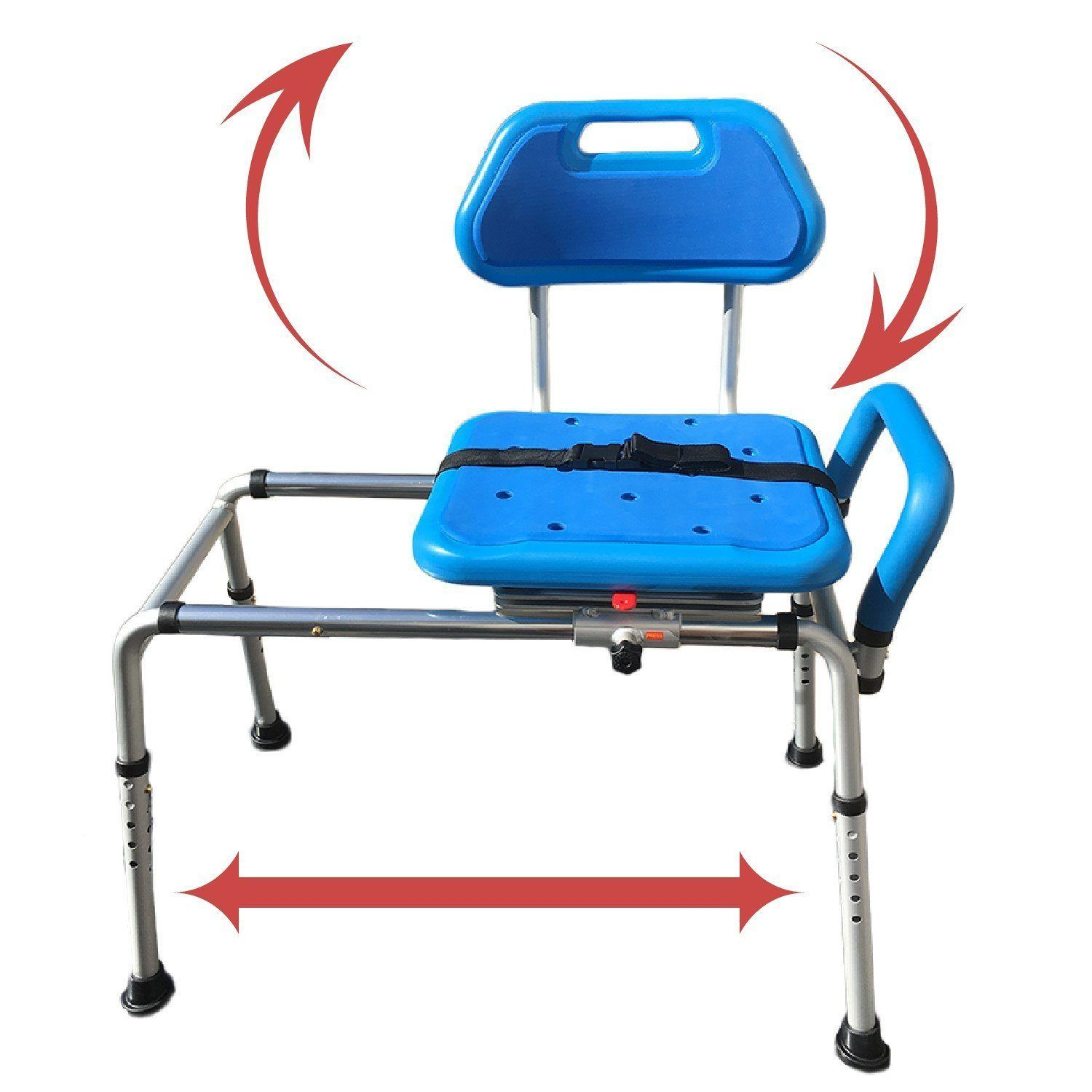 Reconditioned - Gateway Premium Sliding Bath Transfer Bench with ...