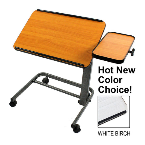 Acrobat Professional Overbed (or) Laptop Table - Brown Maple