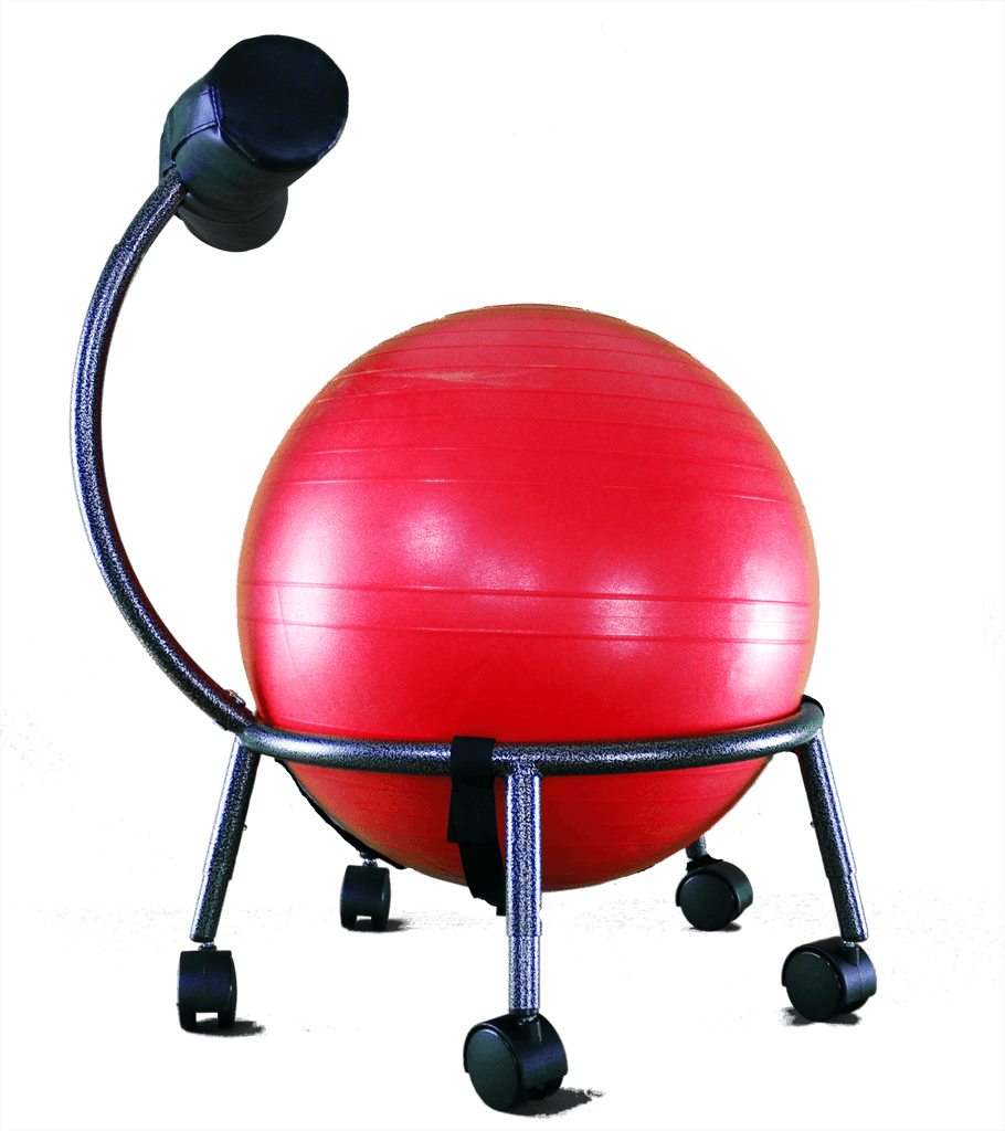 Therapeutic Ball Seat-Helps Build a Healthier Back, Align the Spine, Relieve Pain, and Improve Your Overall Well-Being