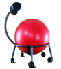 RED THERAPEUTIC BALL SEAT-HELPS BUILD A HEALTHIER BACK, ALIGN THE SPINE, RELIEVE PAIN, AND IMPROVE YOUR OVERALL WELL-BEING
