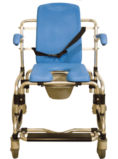 The Baltic Transporter Shower/Commode Chair