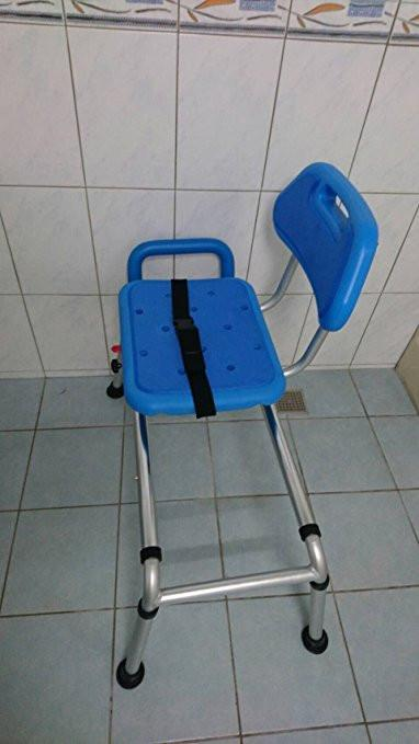 Enjoyable Reconditioned Gateway Premium Sliding Bath Transfer Bench With Swivel Seat Padded Onthecornerstone Fun Painted Chair Ideas Images Onthecornerstoneorg