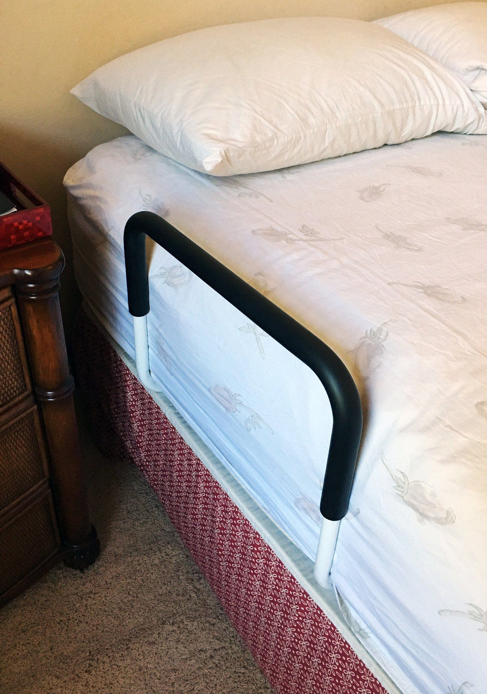 LumaRail Free Stand Bed Assist Rail with IntelliBrite LED Night Light