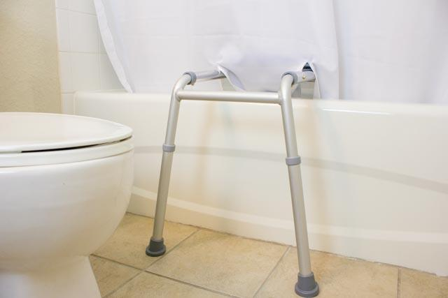 BENCHMATE SPLIT SHOWER CURTAIN FOR BATH TRANSFER BENCHES -  HELP KEEP WATER OFF THE FLOOR