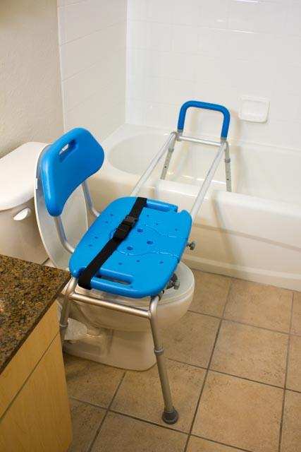 HYDROGLYDE - TOILET TO TUB SLIDING BENCH - EXTRA LONG