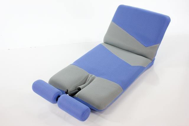 ENERGY SIT-UP MACHINE - top half of the chair easily folds into a custom position