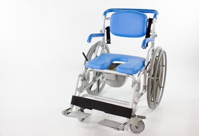 MAXIBATHE BARIATRIC SHOWER-COMMODE-TRANSPORT CHAIR
