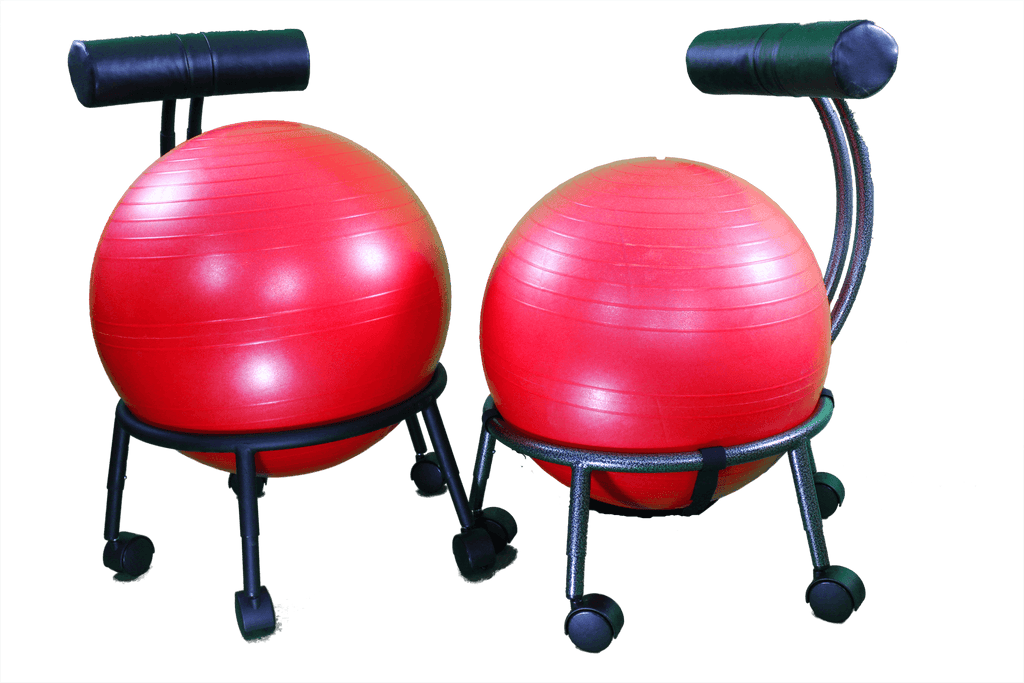 THERAPEUTIC BALL SEAT-HELPS BUILD A HEALTHIER BACK, ALIGN THE SPINE AND RELIEVE PAIN