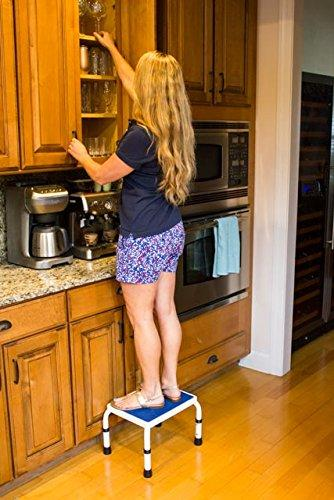 HEIGHT ADJUSTABLE STEP STOOL for Kitchen