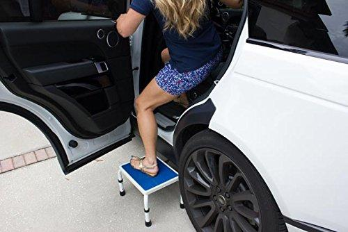 HEIGHT ADJUSTABLE STEP STOOL for Car/Truck/SUV