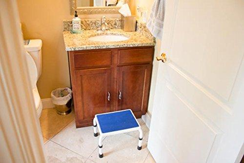 HEIGHT ADJUSTABLE STEP STOOL for Sink