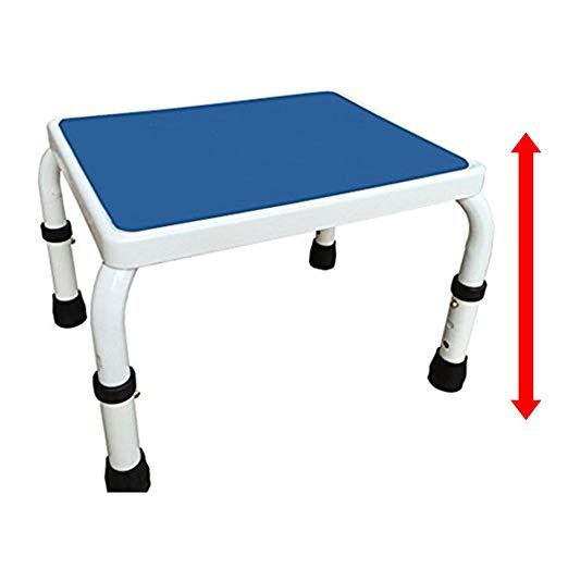 HEIGHT ADJUSTABLE STEP STOOL