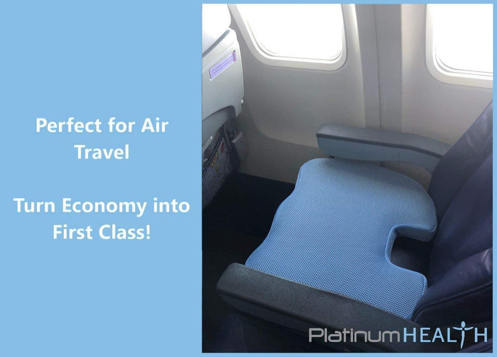 AIR-LOGIC PREMIUM SEAT CUSHION for Flying / Airplane Seats