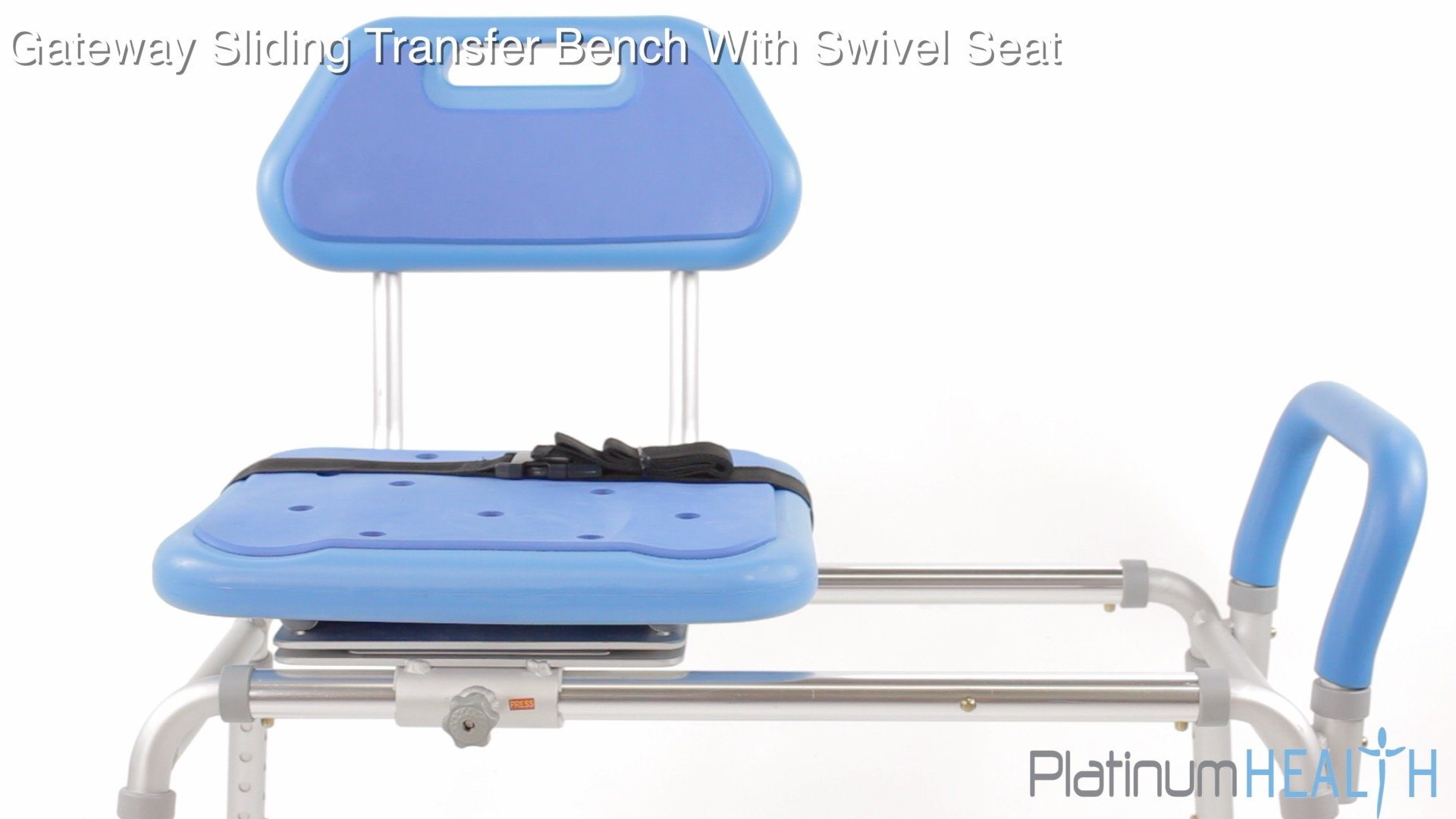 Surprising Gateway Premium Sliding Bath Transfer Bench With Swivel Seat Onthecornerstone Fun Painted Chair Ideas Images Onthecornerstoneorg