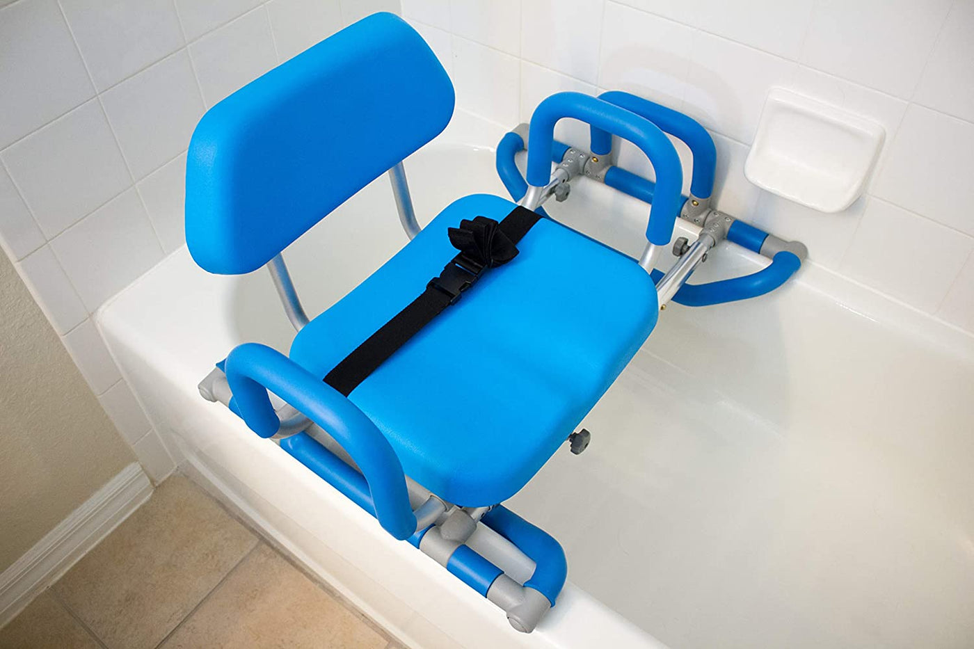 HydroSlide Sliding Bath Chair with Swivel Seat