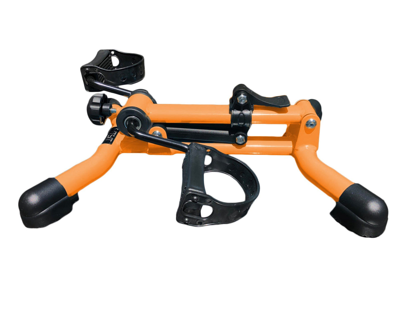 FITSIT DELUXE PEDAL EXERCISER - folding frame - orange