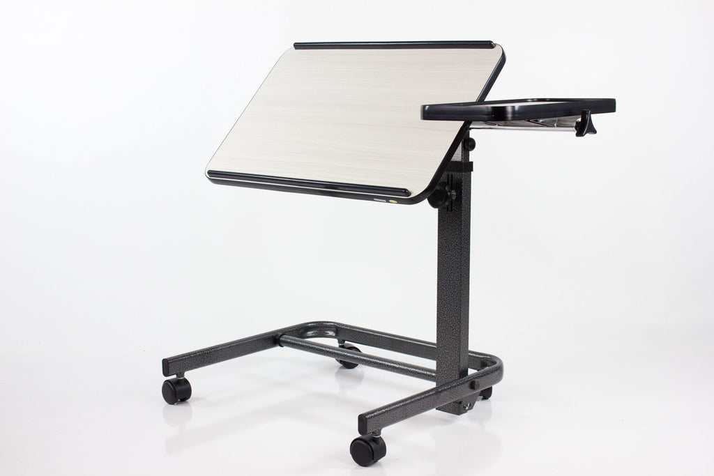 Reconditioned - Acrobat Adjustable Overbed (or) Laptop Table - White Birch