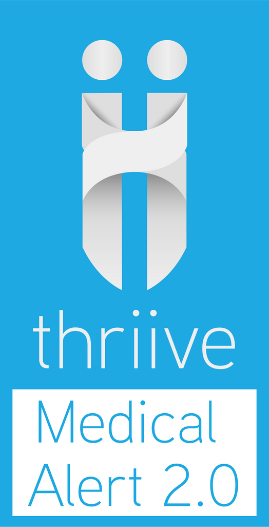 thriive™ Medical Alert 2.0 - Includes use of the thriive Mobile Alert, 2 months Monitoring Service and Free Shipping