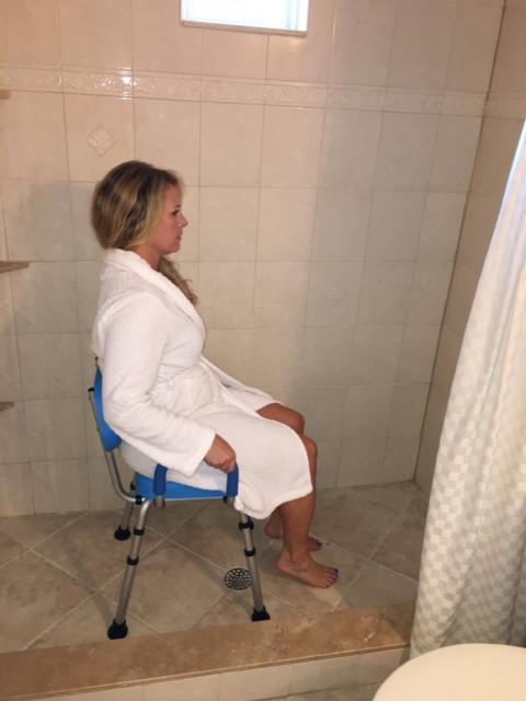 Comfortable Handicap Shower Seat
