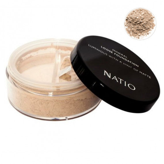 Natio Mineral Loose Foundation Sand 2019