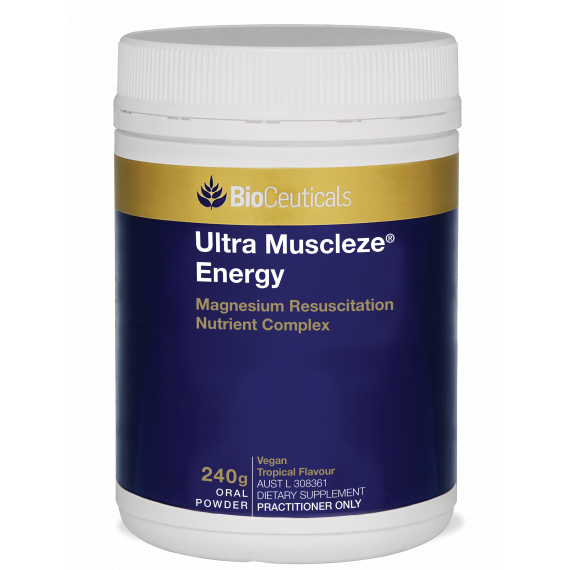BioCeuticals Ultra Muscleze Energy 240g Net Powder
