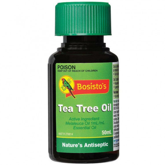 Bosistos Tea Tree Oil Pure 100% 50ml