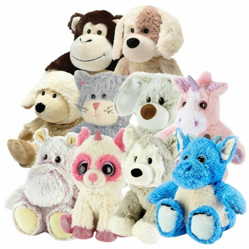 Cozy Plush - Microwavable Heat Pack PICK ANIMAL Soft Toy Intelex