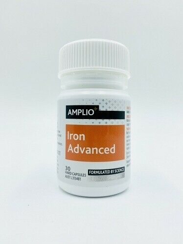 Amplio Iron Advanced 30 Capsules