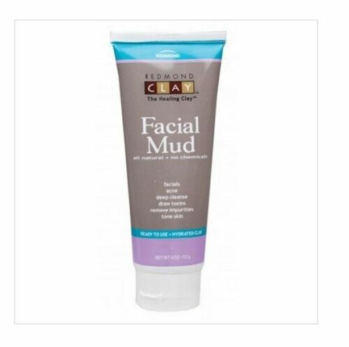 113g REDMOND CLAY Facial Mud - Hydrated Bentonite Clay