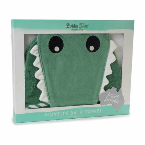 Bubba Blue Novelty Towel - Crocodile