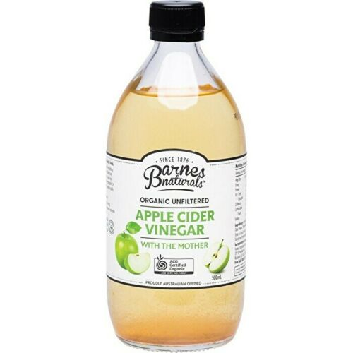 Barnes Naturals Apple Cider Vinegar Unfiltered & Contains The Mother 500ml Other
