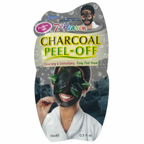 7th Heaven Charcoal Peel Off Mask 10ml