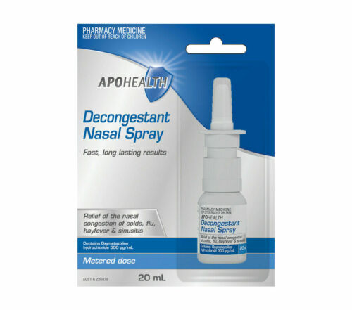 APOHEALTH DECONGESTANT NASAL SPRAY FAST, LONG LASTING RESULTS 200 Sprays