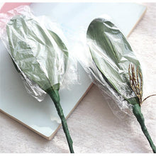 Load image into Gallery viewer, 1pcs Real Touch Butterfly Orchid Artificial  Leaf