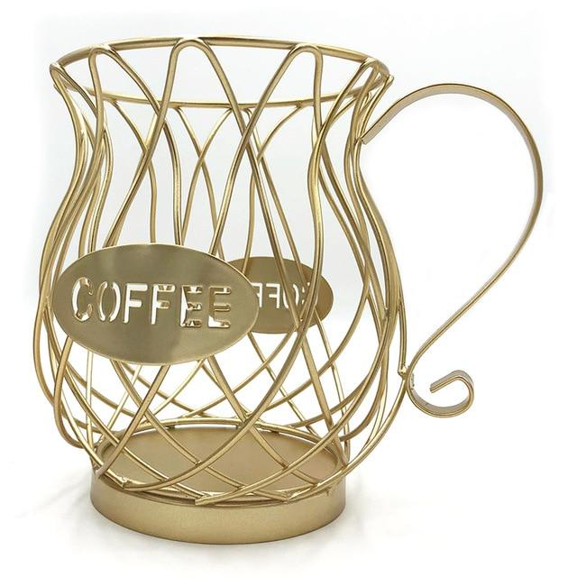 Universal Coffee Capsule Storage Basket