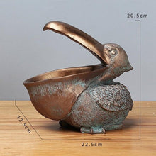 Load image into Gallery viewer, Pelican Statue Key Candy Container