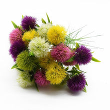 Load image into Gallery viewer, 5 Pieces Plastic Dandelion Vases Wedding Bridal Artificial Flowers