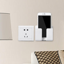Load image into Gallery viewer, Remote Control Mobile Phone Plug Wall Holder
