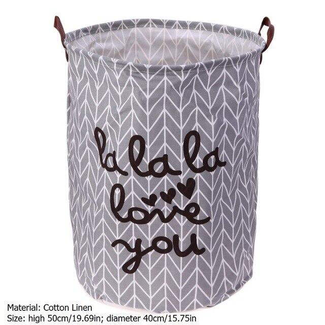 Laundry Basket for Toys Dirty Clothes Storage Basket