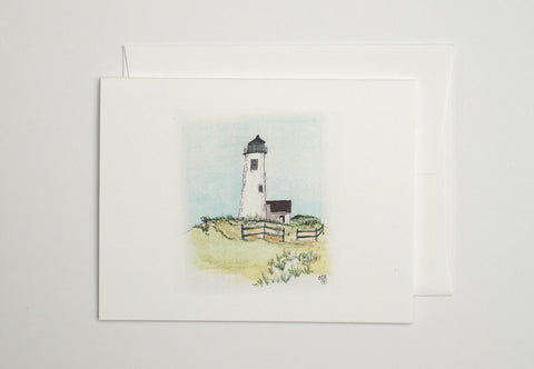 Great Point Lighthouse Note Cards