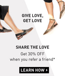 Share the love and get 30% off when you refer a friend*