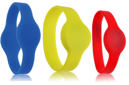 Wristband with Mifare 1k NXP chip